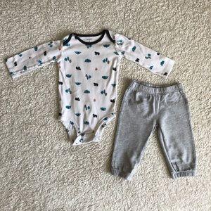 Carter's Two-Piece Bodysuit & Pants